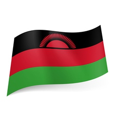 State flag of Malawi vector image