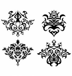 emblem set vector image vector image