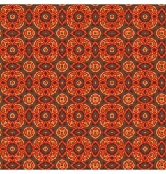 Seamless floral ethnic pattern vector