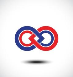 An attractive Infinity symbol vector