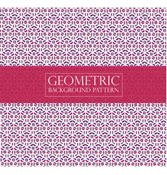 Editable abstract geometric pattern - colourful vector