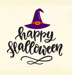 Happy halloween banner template vector