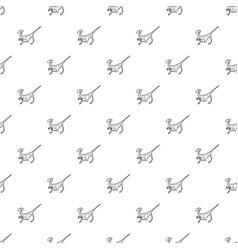 Velociraptor pattern seamless vector