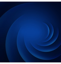 Blue smooth twist lines background vector image