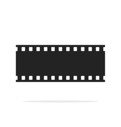 Filmstrip seamless background isolated vector image vector image