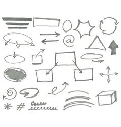 marker elements vol 2 vector image