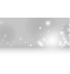 abstract bokeh lights background vector image