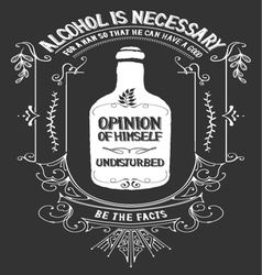 Alcohol vector