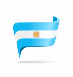 Argentinean flag map pointer layout vector