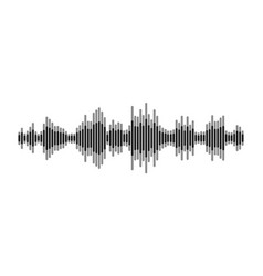 black and white equalizer vector image