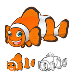 Clown Fish vector image vector image