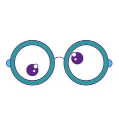 Crazy eyes icon vector