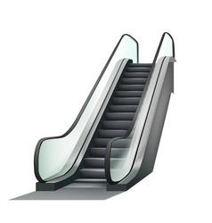 Escalator airport electronic equipment vector