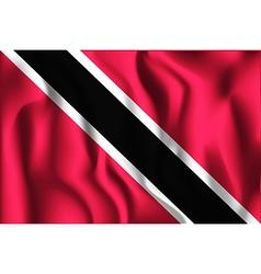 Flag of trinidad and tobago aspect ratio 2 to 3 vector