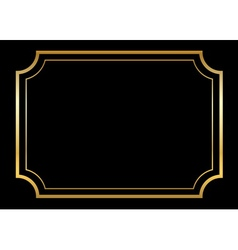 Black And Gold Frames Vector Images Over 16000