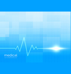healthcare and medical background concept vector image