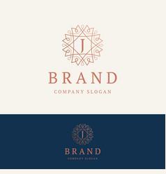 J brand logo vector