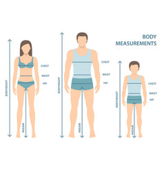 man women and boy in full length vector image