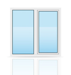 plastic window 03 vector image