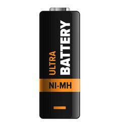 ultra nickel metal hydride type powerful battery vector image