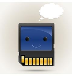 Memory Boy vector image vector image
