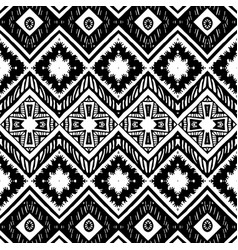 Abstract zigzag pattern for cover design tribal vector