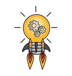 creative big idea icons vector image