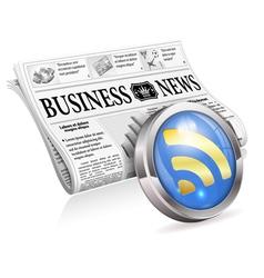 Digital News Concept vector image vector image