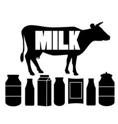 milk vector image vector image