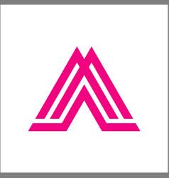 Am ma a m initial logo vector
