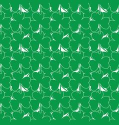 clover tile seamless-12 vector image