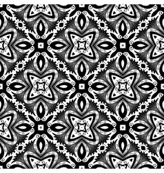 Flower Pattern Intricate Tile vector
