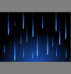 rain blue shape background space geometric of vector image