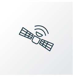 Satellite icon line symbol premium quality vector