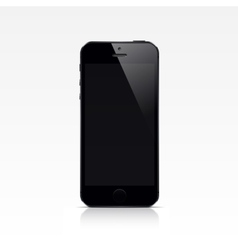Smart Phone Isolated on White Background vector image