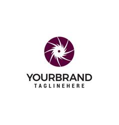Turbine for logo designs template vector