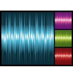abstract lights background with stripes vector image