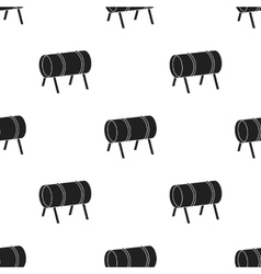 Playground tunnel icon in black style isolated on vector image