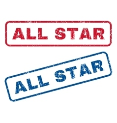 All Star Rubber Stamps vector