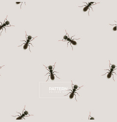 Ant pattern vector