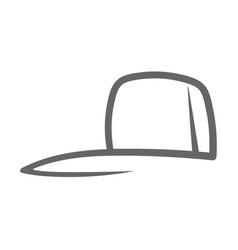 Cap logo design vector