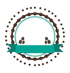 Coffee emblem icon image vector