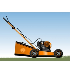 Lawn mower vector