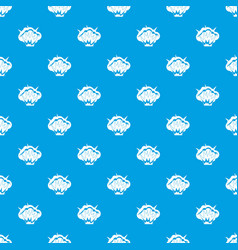 Projectile explosion pattern seamless blue vector