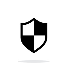 Protection icon on white background vector image