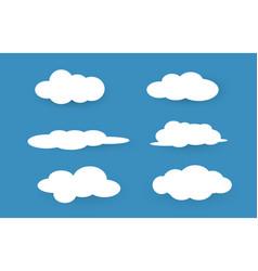 Sky clouds eps10 vector