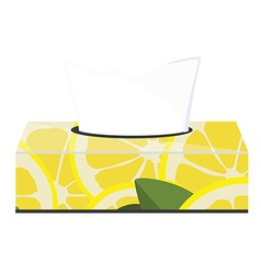 Tissue box vector