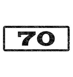 70 watermark stamp vector image vector image