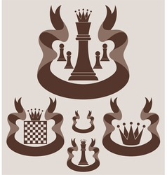 Chess Symbol vector image vector image