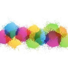 Color paint vector image